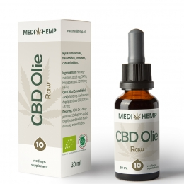 CBD olie 10 procent 30 ml Medihemp naturel