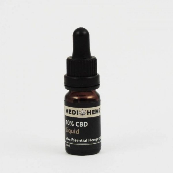 CBD olie 10 procent 10 ml medihemp-naturel
